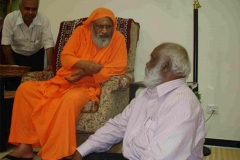 Meeting Swami Dayananada Saraswati in Oct 2009