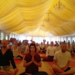 Dr.Raghavan spoke to foreign students of Yoga in Sulislaw, Poland